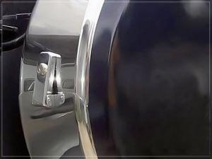 Бокс (чехол) запасного колеса из нержавеющей стали (265/70R16; 265/65R17; 265/60R18) Toyota LAND CRUISER PRADO 120|escape:'html'