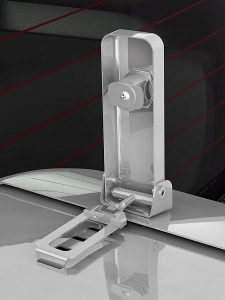 Бокс (чехол) запасного колеса RALEX-TUNING из нержавеющей стали (265/70 R16; 265/65 R17) Toyota LAND CRUISER PRADO 120 под резину BRIDGESTONE|escape:'html'
