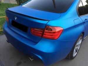 Спойлер BMW 3-series (F30) INMAX. Аналог М-Perfomance (OEM 51192349678)