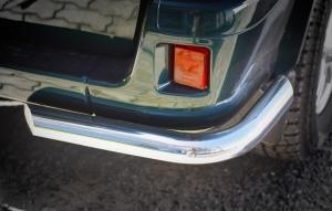 Защита заднего бампера RALEX-TUNING