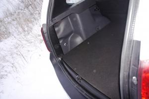 Задний порожек с лентой 3М Renault Duster (Рено Дастер). RALEX-TUNING