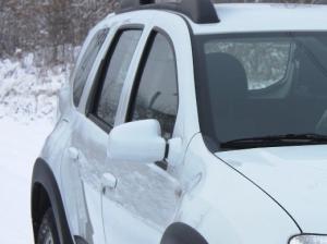 Накладки на зеркала Renault Duster (Рено Дастер). RALEX-TUNING