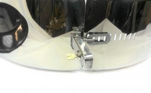 Бокс (чехол) запасного колеса RALEX-TUNING из нержавеющей стали (285/60R18; 285/65R17; 285/60R20) Toyota LC 200, Lexus 570|escape:'html'