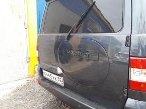 Заглушка задней двери УАЗ Патриот