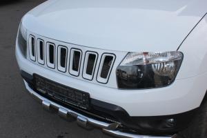 """Решетка радиатора """"Cherokee Style"""" Renault Duster (Рено Дастер)"""