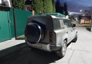 Бокс (чехол) запасного колеса из нержавеющей стали RALEX-TUNING ( 255/65R19; 255/60R20 ) Land Rover Defender 2021